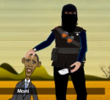 IS releases animated video depicting Jihadi John beheading Obama