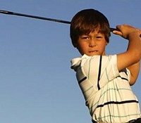 Pint-sized golf prodigy wins second world title