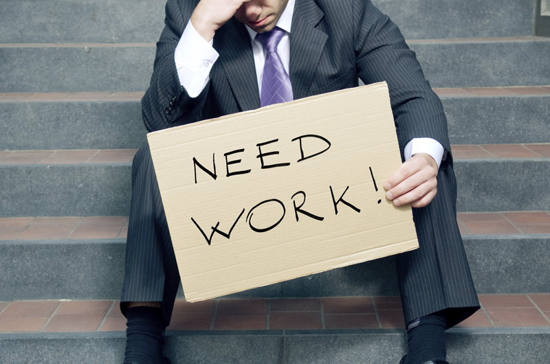 'Unemployment' could kill you, 'recession' might be good for health