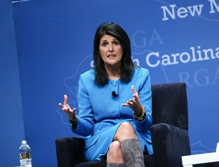 """Nikki Haley has """"good discussion"""" with Trump; speculation of cabinet job"""