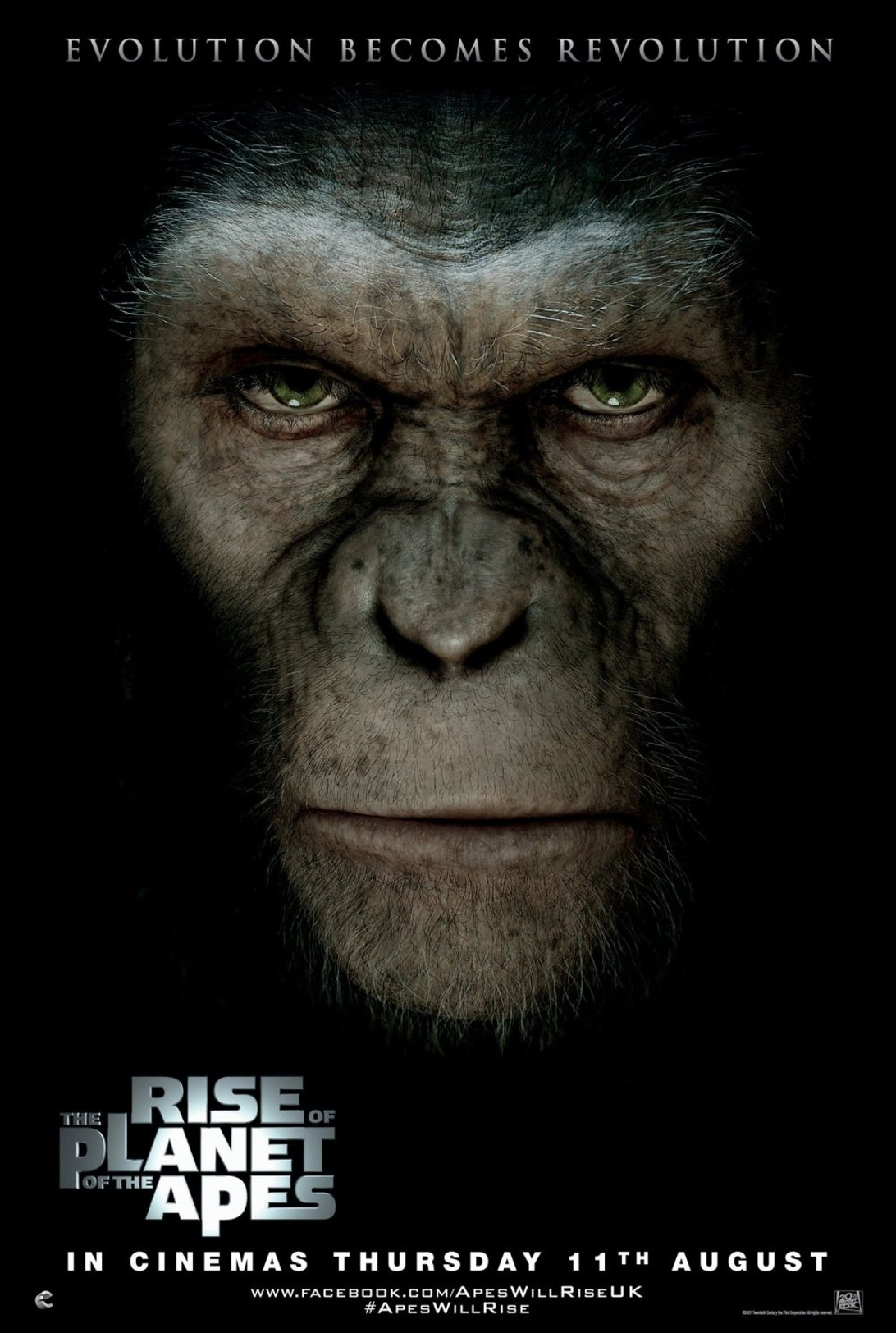 'Rise of the Planet of the Apes' tops weekend box office with $54m