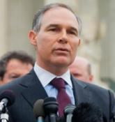 Scott Pruitt's name confirmed by Senate to lead Environmental Protection Agency