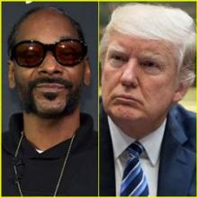 "President Trump responds to Snoop Dogg's video featuring ""clown Trump"""