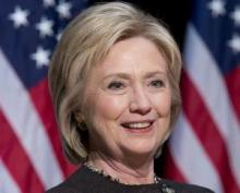 'Let's shatter stereotypes': Hillary Clinton calls on more women to run for office