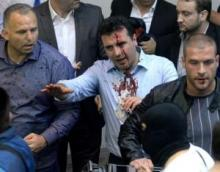 Macedonia: Protesters storm parliament, attack MPs