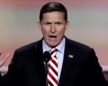 Michael Flynn is 'a wonderful man', says Trump after firing him