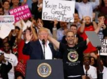 Trump's media bashing continues in Florida rally, targets 'source-less' stories