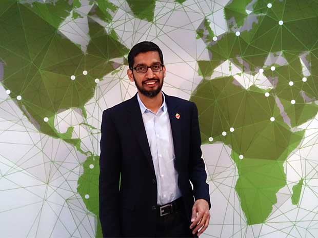 Google's Sundar Pichai backs Apple over cracking shooter's phone