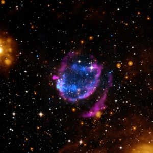 Supernova that swept materials equivalent to about 45 times sun's mass found