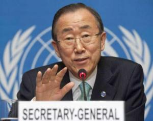 Ban Ki-moon urges UN staff to be voice for voiceless